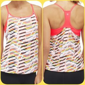 Fabletics Norwalk Tank With Built- In Bra Small